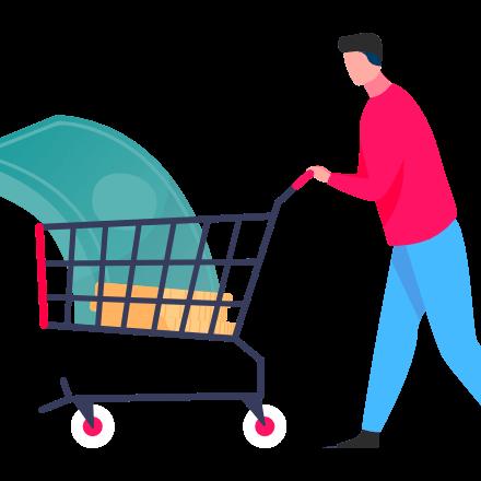 man-trolley-shopping
